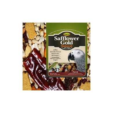 HIGGINS Safflower Gold Food for Parrots, 25-Pound
