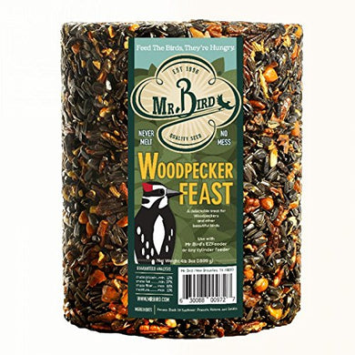Mr. Bird Woodpecker Feast Birdseed Large Cylinder 4 lbs. 2 oz.
