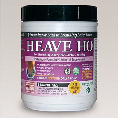 Equine Horse Heave Ho - Apple Flavor - 30 Serving