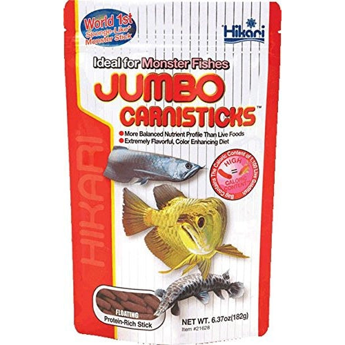 Hikari Usa Inc AHK21628 carnivoreivore Sticks Jumbo 6.37 -Ounce