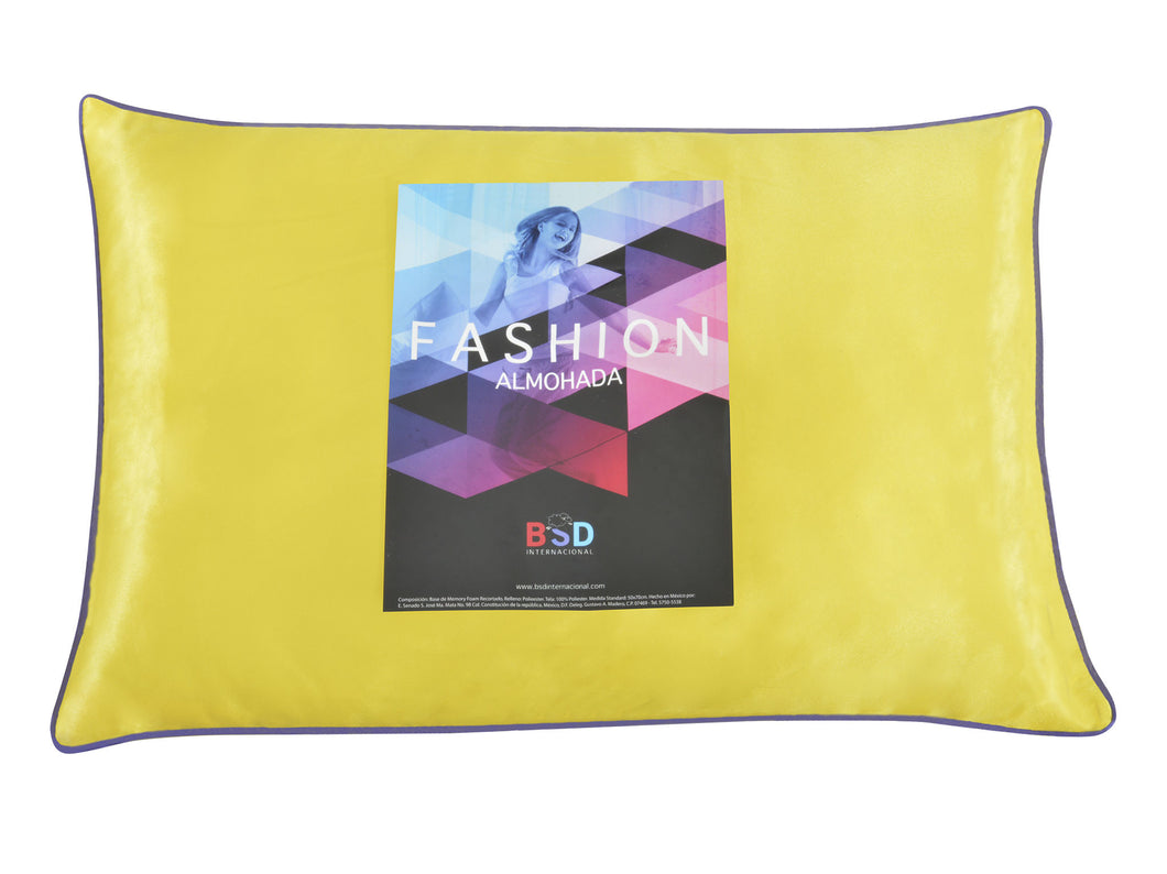 Almohada Fashion Yellow Std