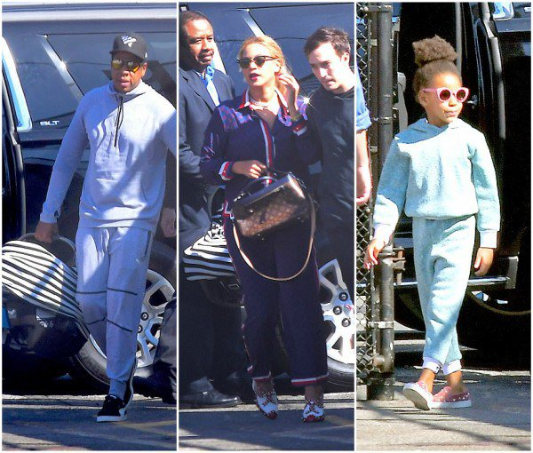 Spotted BLUE IVY CARTER wearing WT!