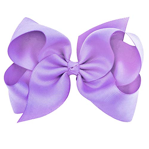 Hair Accessories - Bows For Girls, Large Bows with Alligator Clips - Grosgrain Hair Clips by CoverYourHair