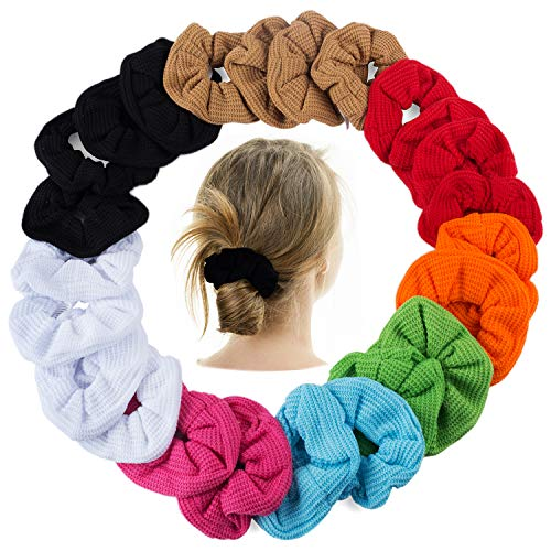 Pony Holders - Scrunchies For Hair - Scrunchy Hair Ties Bulk by CoverYourHair