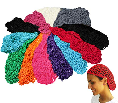 12 Assorted Head Snood - Civil War Reenacting Style - CoverYourHair®