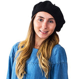 Womens Hats - Beret, French Beret 100% Wool Artist Hat - Winter Hat for Women by CoverYourHair