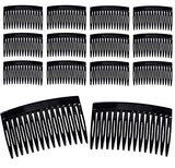 3 Inch Plastic Hair Combs - Basic 3 Inch Plastic Hair Combs (12 Pack Black Hair Comb)