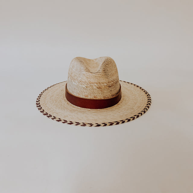 Mini San Cristobal Straw Fedora