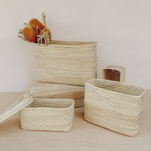 Sonora Straw Basket - Small
