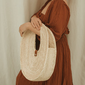 Goldie Straw Bag