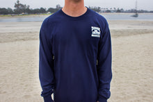 Trader Mort's Navy Long Sleeve