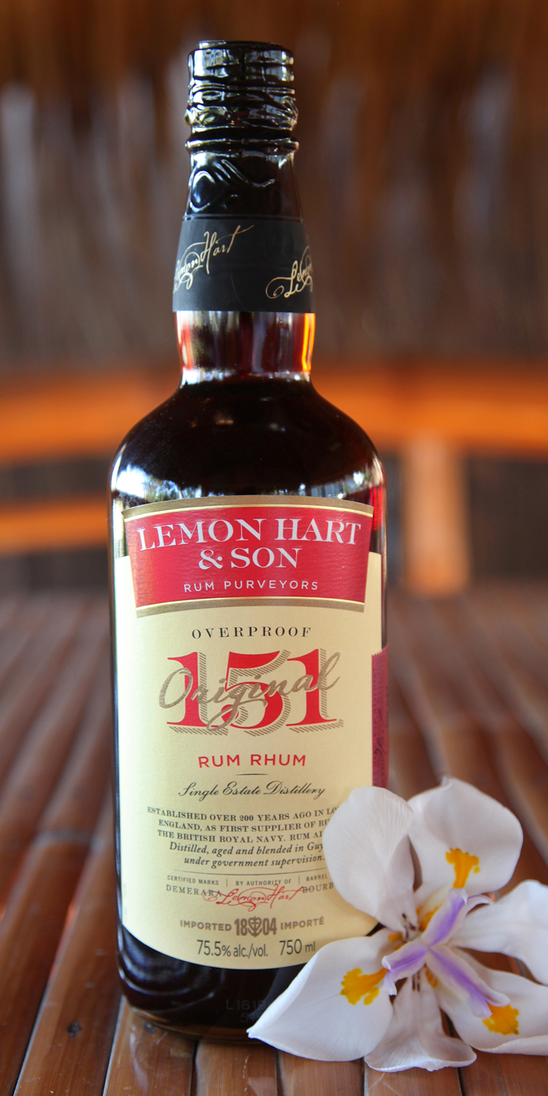 Lemon Heart 151 Rum