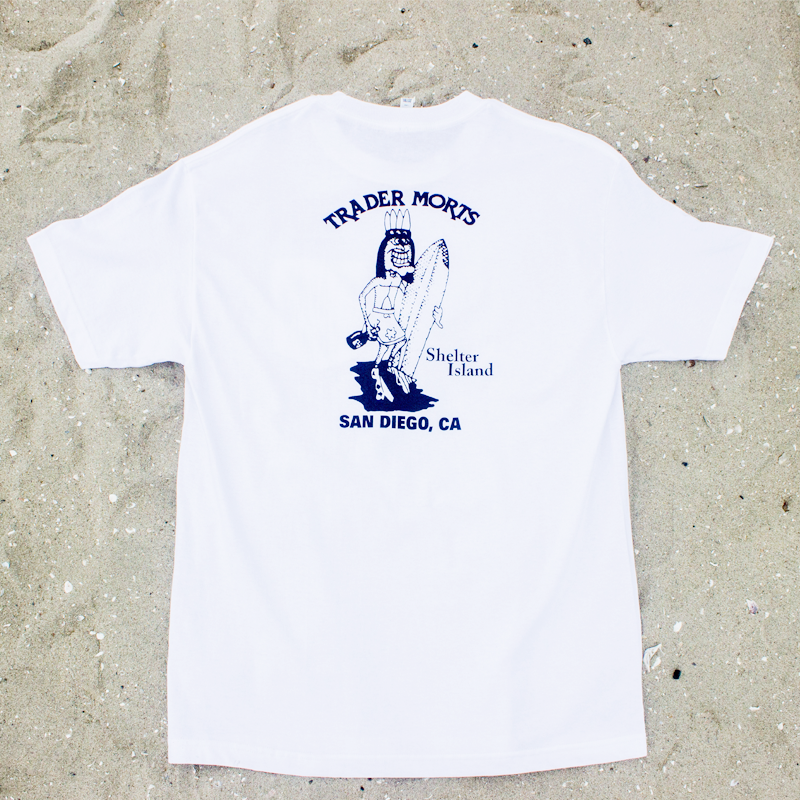Trader Mort's Classic White Tee