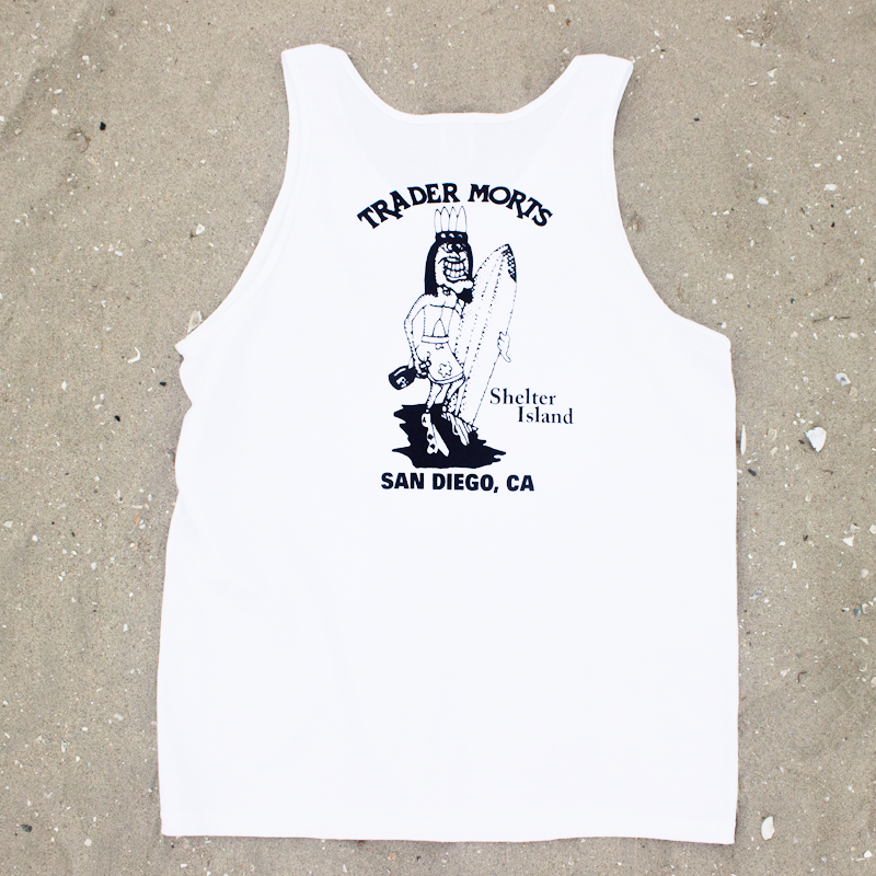 Trader Mort's Classic White Tank