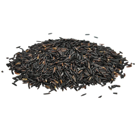 Organic black rice in bulk