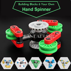 Kito Building Blocks Spinners (Set of 6)