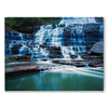 Waterfall Scene - Stretched Canvas Print