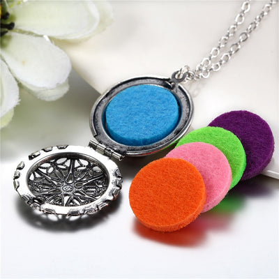 Wearable Aromatherapy Necklace