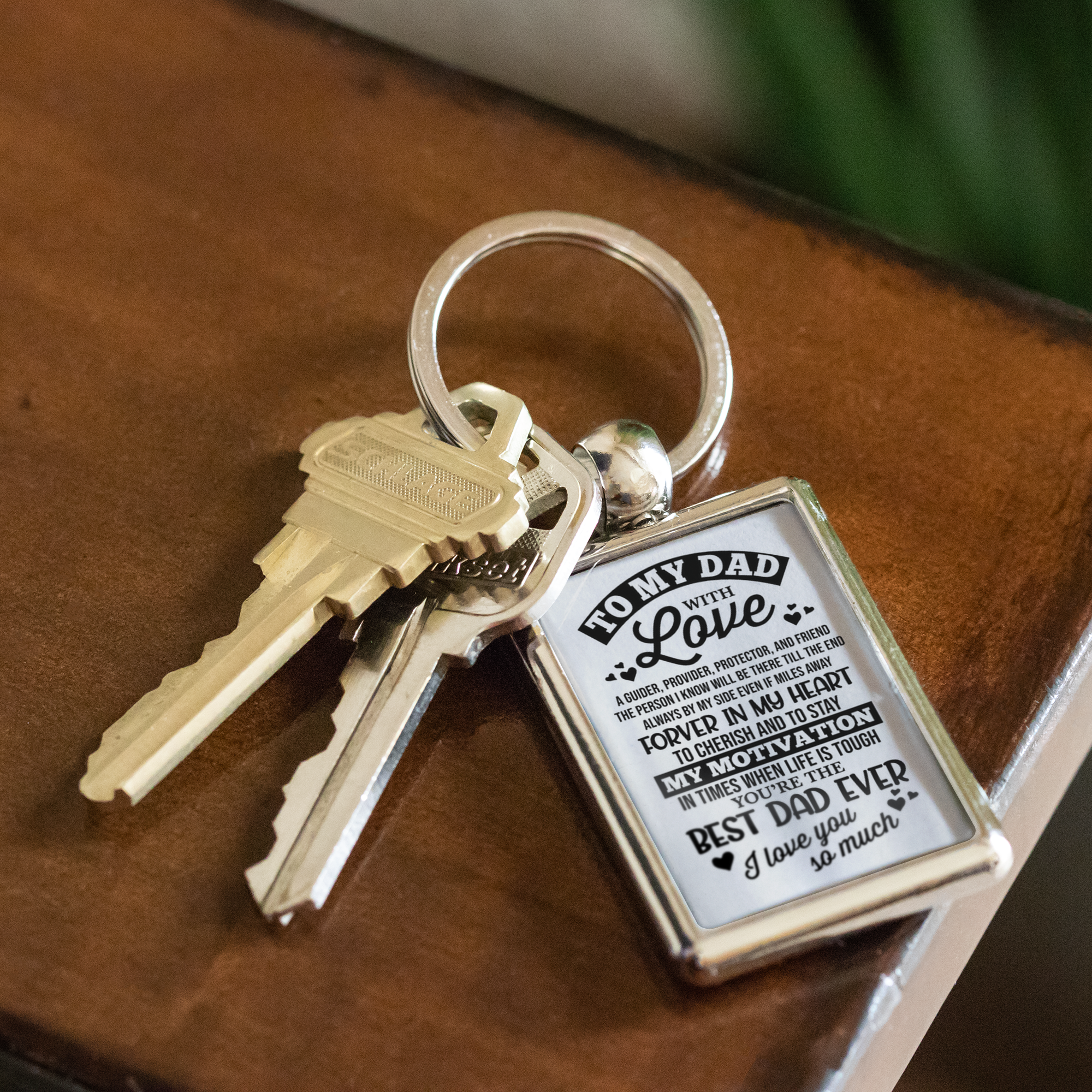 Fathers Day Gift - Keyring