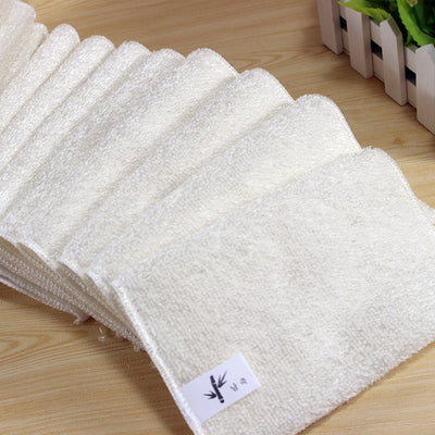 x5 Bamboo Fiber Cloth Cleaning Towels