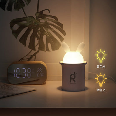 Portable Night Light Humidifier Colorful Cartoon Mini USB Humidifier