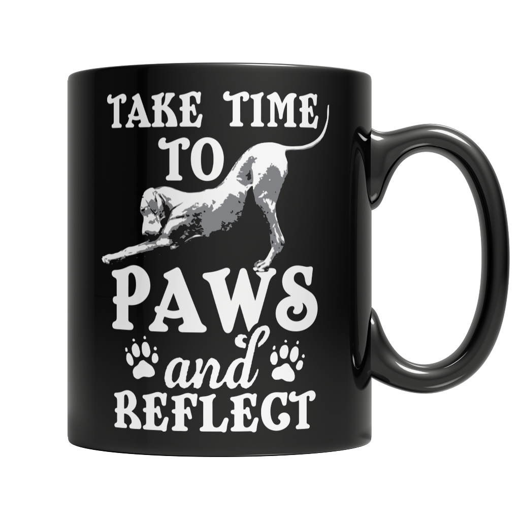 Paws and Reflect Yoga Mug