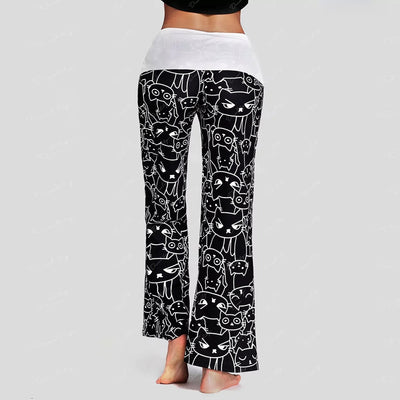 Cat print Yoga Pants