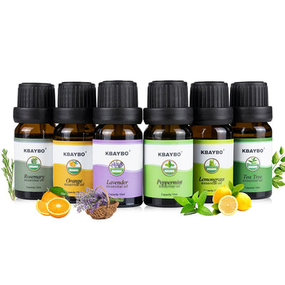 6 Fragrance Essential Oils