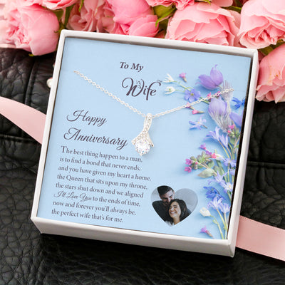 Personalized Anniversary Gift for Wife - add your own image
