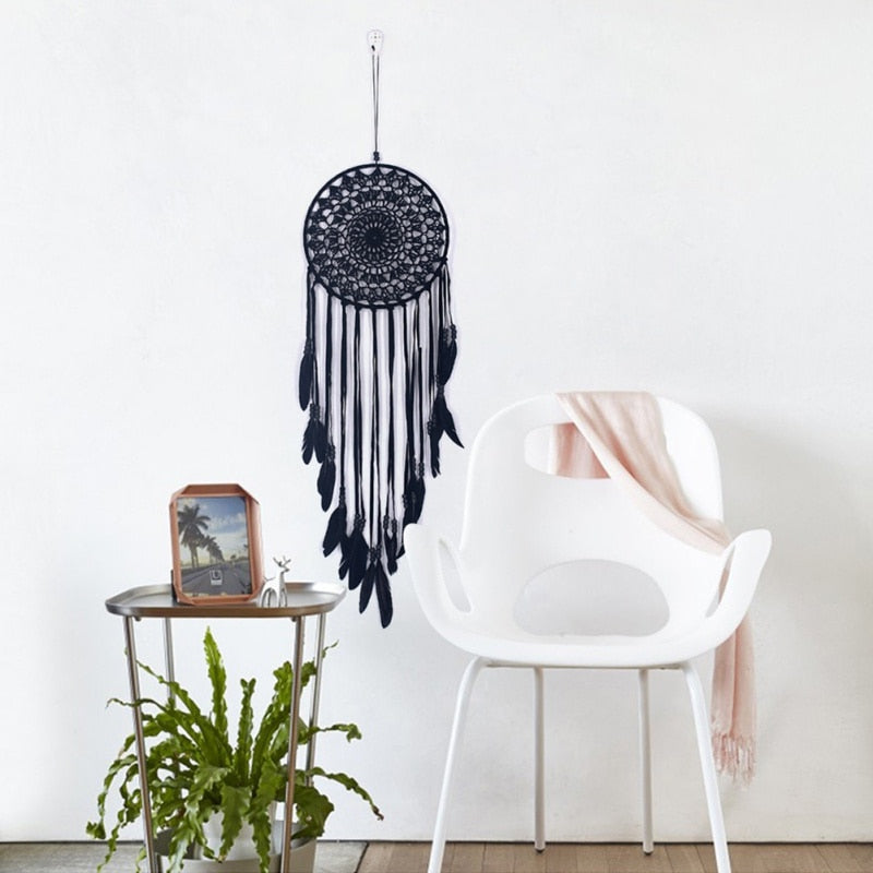 Handmade Indian Feather Dream Catcher