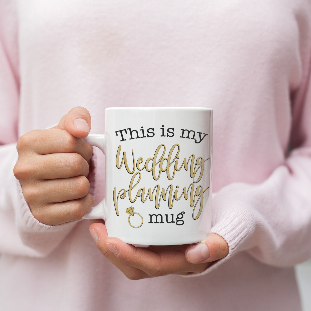 My Wedding Planning Mug - Gift for Fiancee
