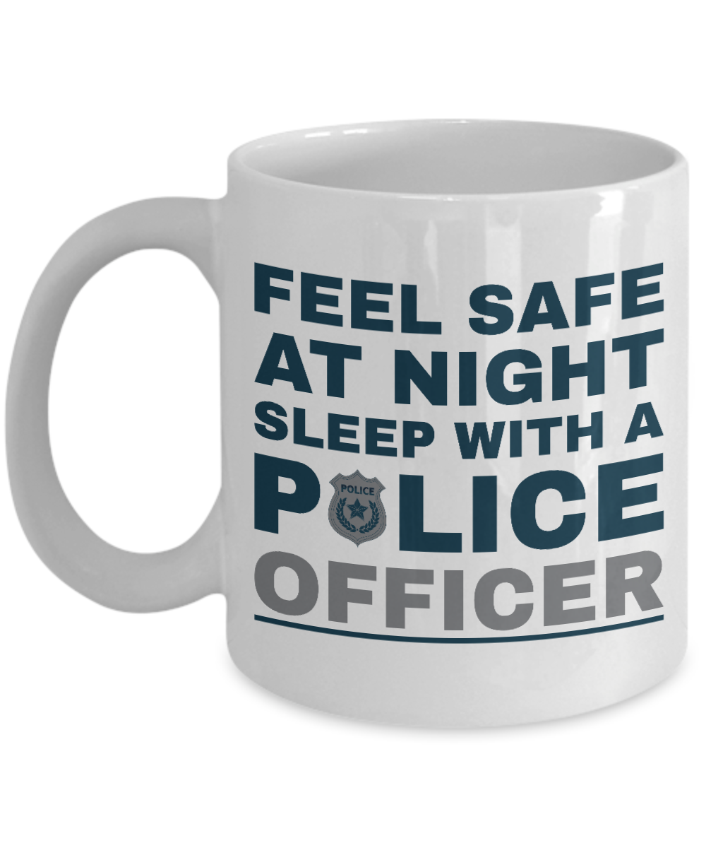 Funny Novelty Police Officer Gift Mug