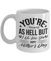 You're Annoying As Hell But I Love You - Funny Mother's Day Gift for Mom