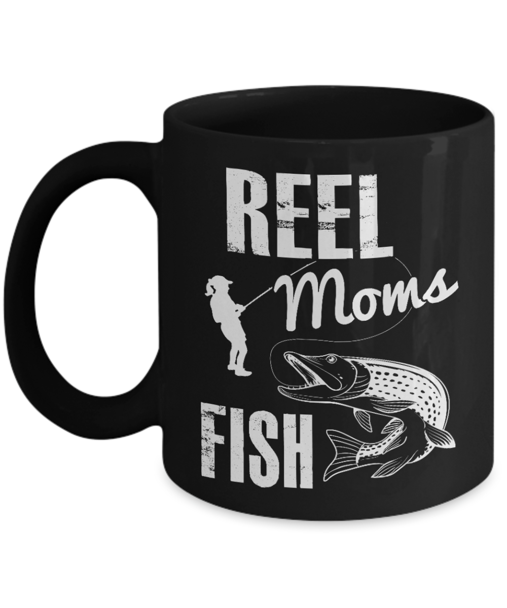 Reel Moms Fish Mug
