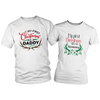 Mommy & Daddy First Christmas t-shirts combo