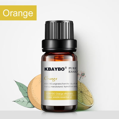 Essential Oils for Diffuser - 6 Kinds Fragrance of Lavender, Tea Tree, Rosemary, Lemongrass, Orange