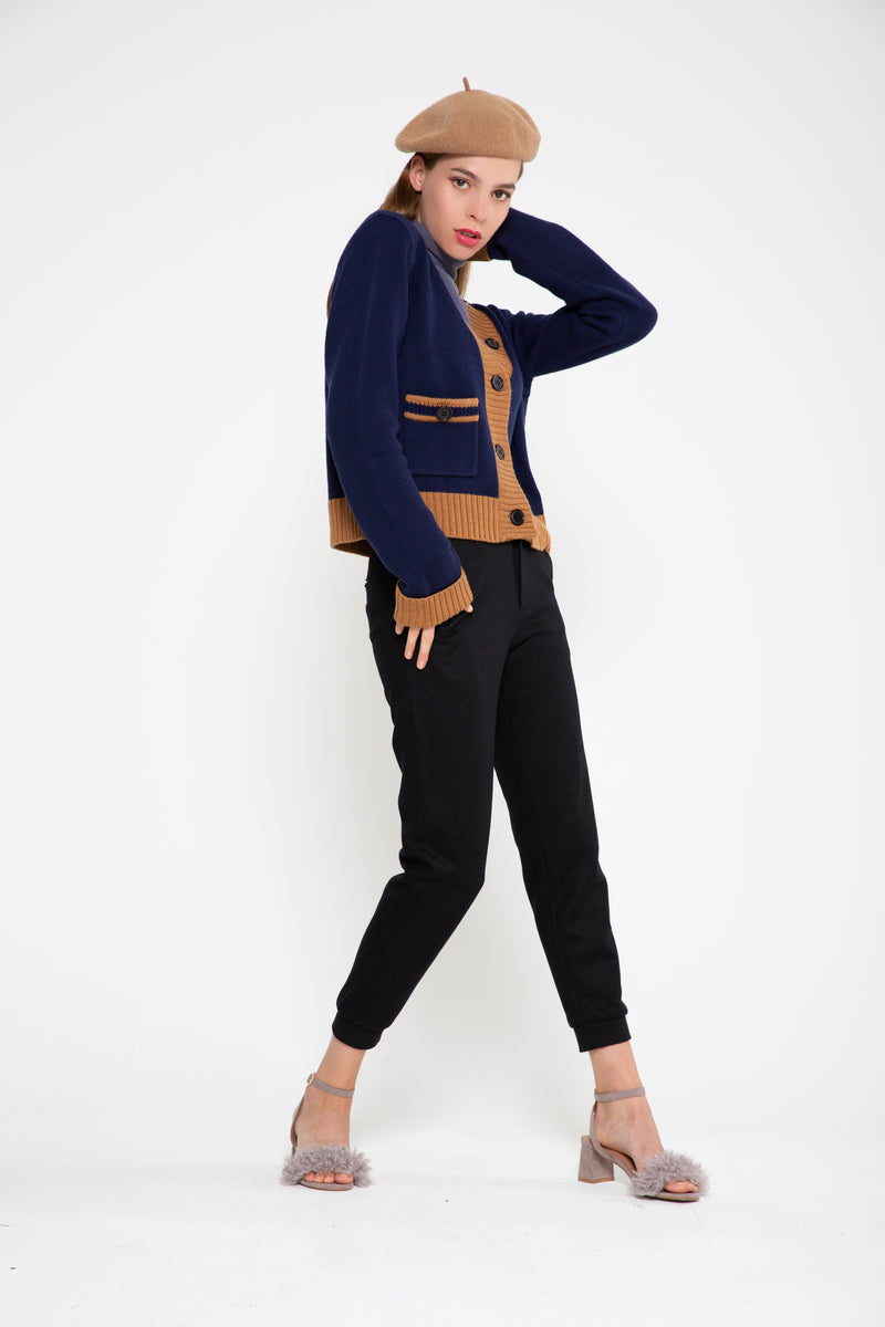 Mid V-Neck Cardigan