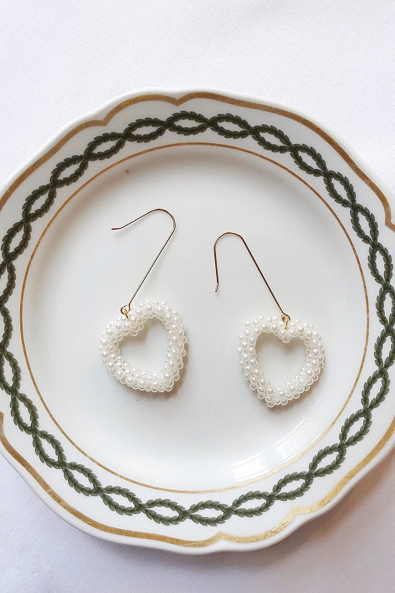 Hanging Pearl Earrings