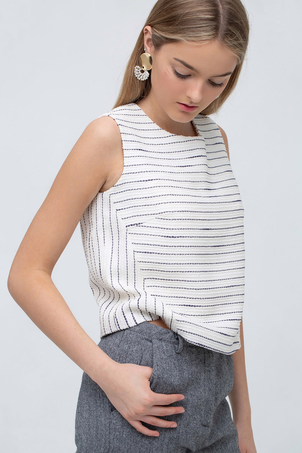 WB Stripe Top