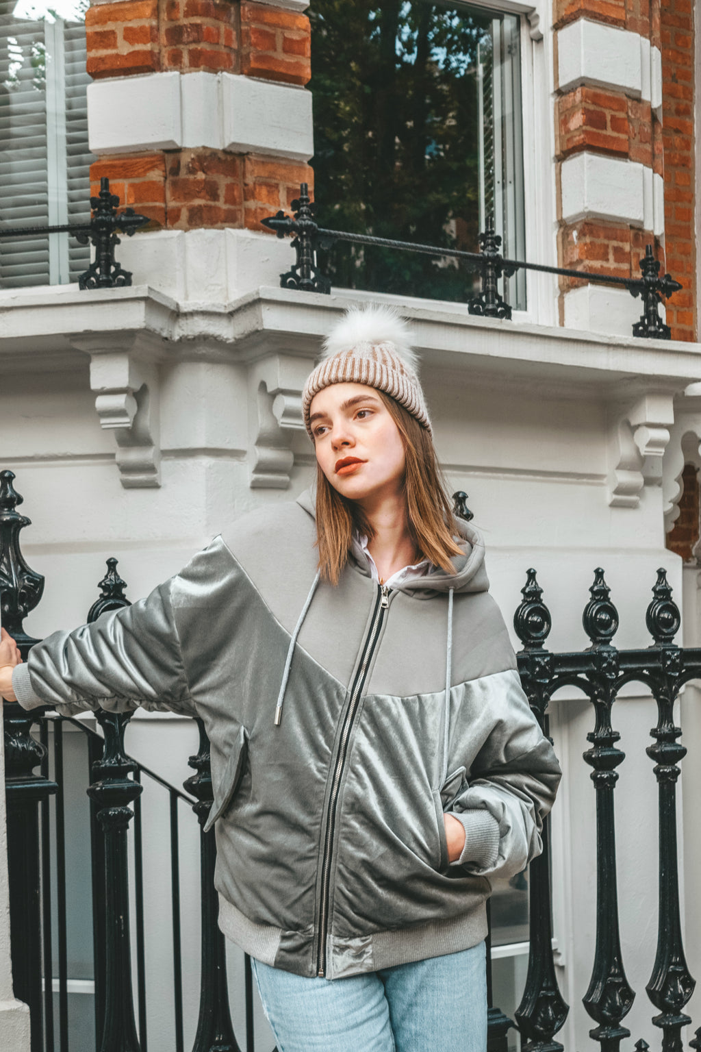 Oversized Sliver Coat