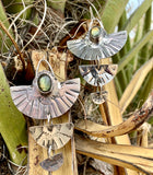 Labradorite Sunbird Earrings