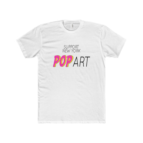 'SUPPORT NY POP ART' TEE