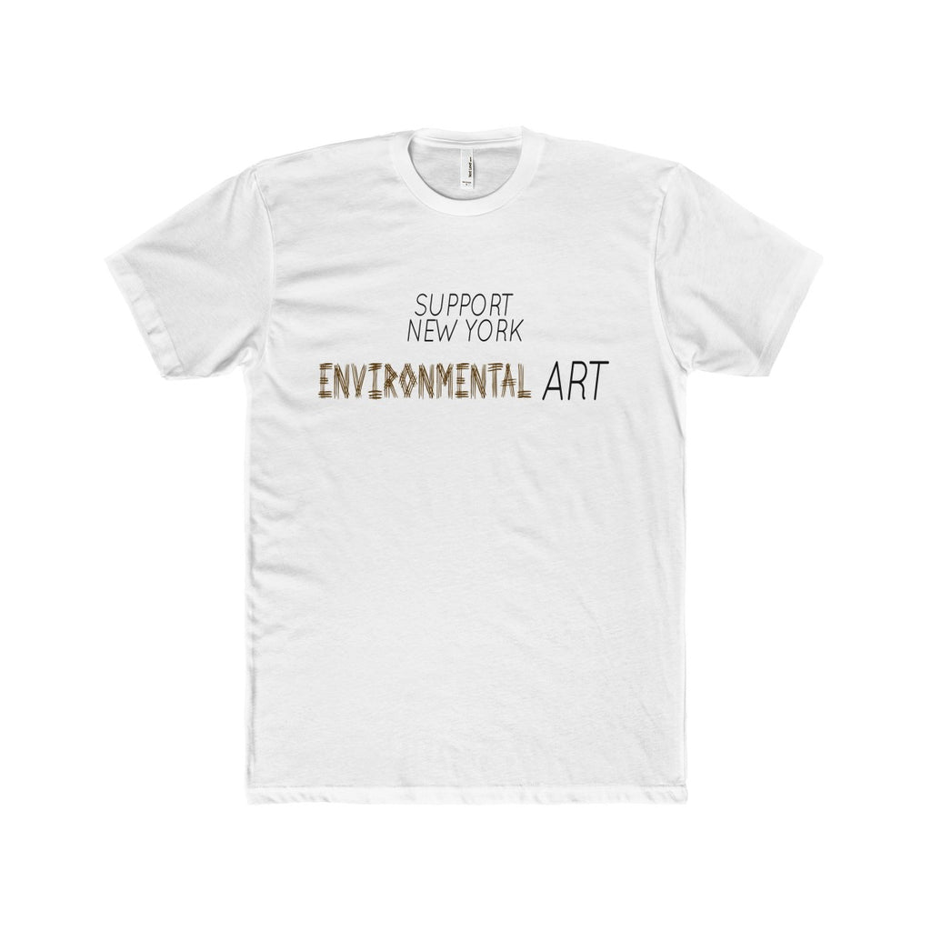 'SUPPORT NY ENVIRONMENTAL ART' TEE