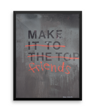 Make Friends Limited Edition Print