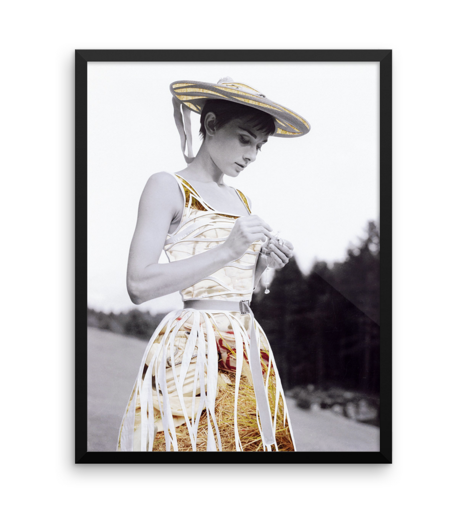 Audrey Hepburn Limited Edition Print