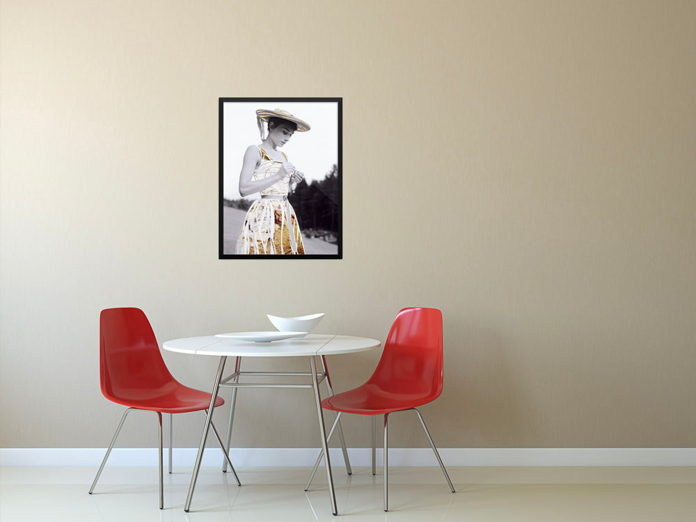 Audrey Hepburn Print (Series of 30)