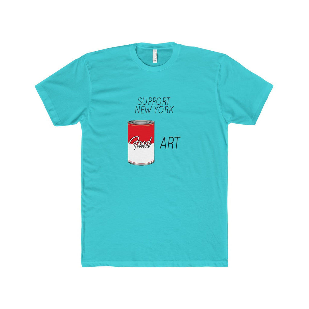 'SUPPORT NY FOOD ART' TEE
