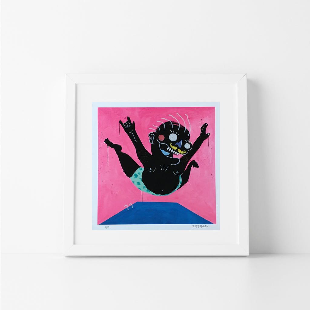 Belly Flop Print (Series of 10)