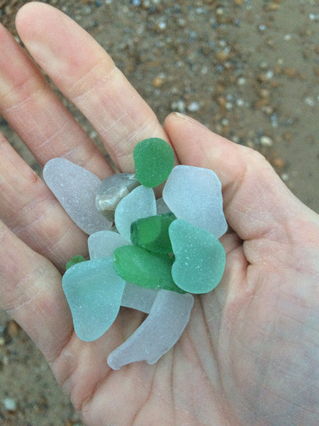 Beach Glass: Picking up the Pieces