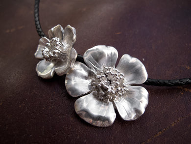 Double Wild-Rose Necklace